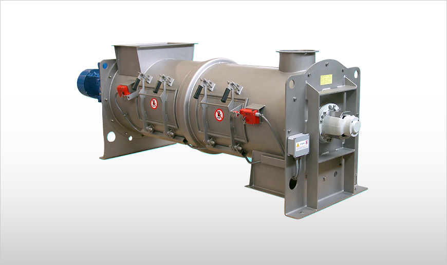 Continuous Single Shaft Mixers